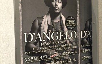 D'Angeloセットリスト【3/28パシフィコ横浜】