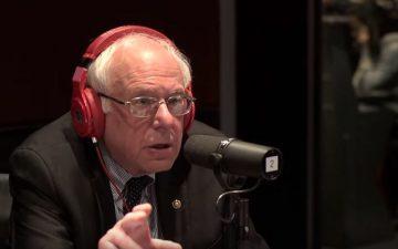 米大統領候補のバーニー・サンダースがヒップホップラジオに出演