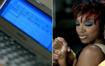 ネリー「Dilemma」MVでなぜケリー・ローランドはエクセルでメッセをしていたのか?起業家が考察