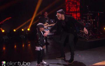 Anderson .Paakが6歳の息子とステージで共演。エレンの誕生日サプライズ