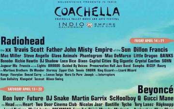 Coachella 2017に22組のHip-Hopアーティストが出演決定