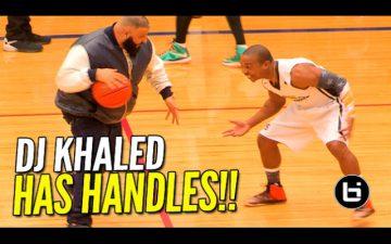 【Funny】DJ Khaledがバスケをやってる動画をみて息抜きをしよう