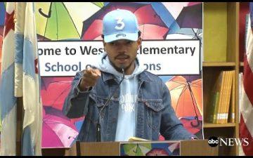 Chance the Rapperがシカゴの公立学校に100万ドルを寄付。彼の活動をこちらでサポートしよう!