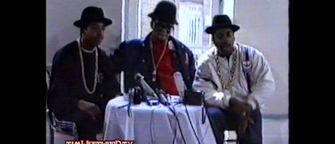 Run-DMCの1988年のフリースタイル動画から見るヒップホップの「ポジティブさ」
