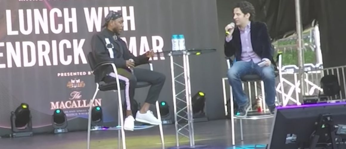Kendrick Lamarが「コンシャス」であることについて語る。50 Centから学んだこととは?