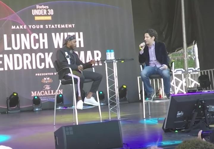 Kendrick Lamarがメンタリングと人生においての過ちを語る。「前に進み続ける糧」となる彼の発言