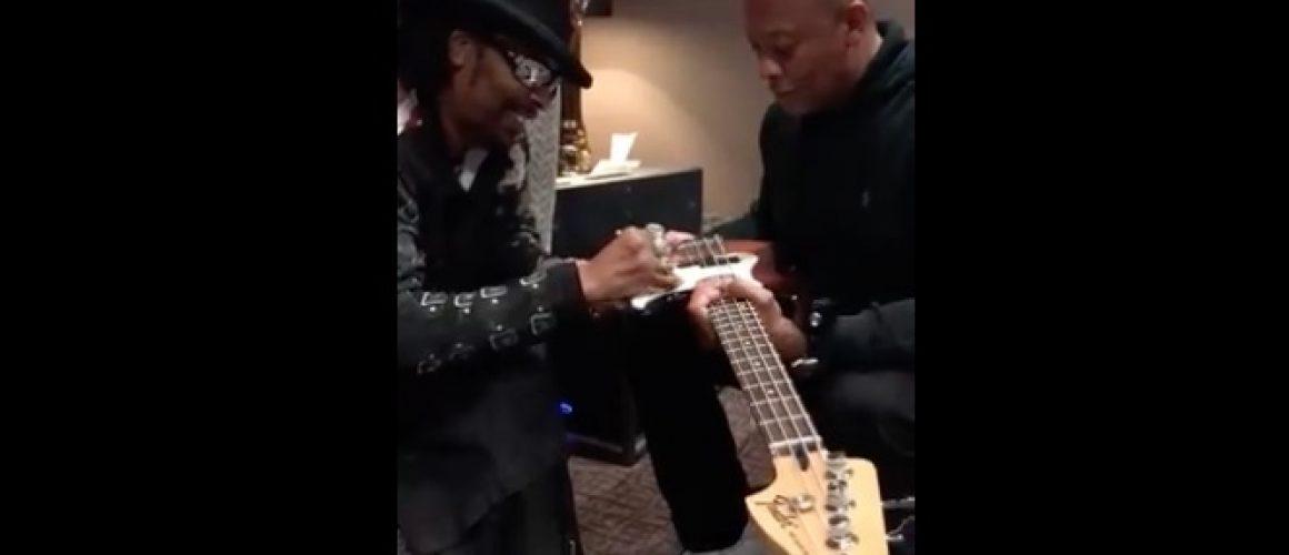 Dr. DreとBootsy Collinsが一緒に何かを企んでいる!?何歳になっても失わない音楽への好奇心【ショートエピソード】