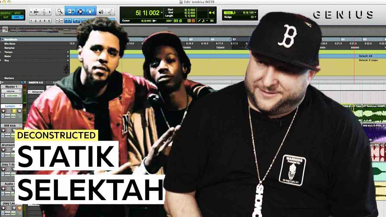 Statik SelektahがJoey Badas$$とJ. Coleの「Legendary」のビートメイキングを解説。参考になるテクニックも紹介