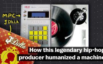 J Dillaのプロダクションをブレイクダウンした動画を解説。彼がMPCとビートに与えた「人間味」