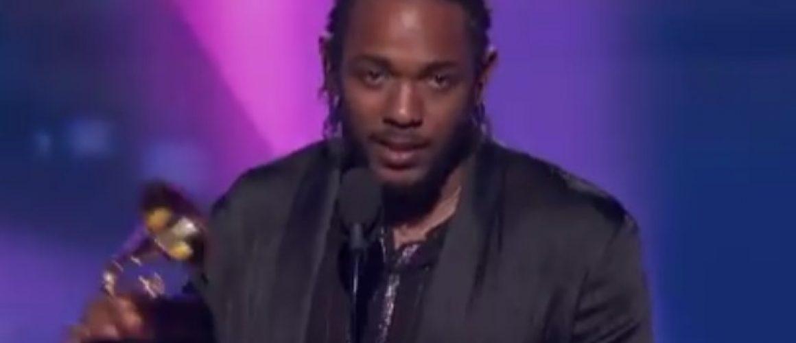 ケンドリック・ラマーがベスト・ラップアルバム受賞スピーチにて「アーティスト」であることを語る。