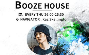 【J-Wave × Playatuner】Playatuner代表がナビゲーターを務めるラジオ番組「Booze House」Vol.1まとめ #Booze813